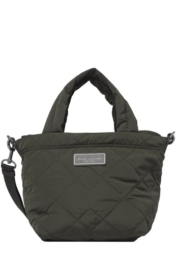 Marc Jacobs green Marc Jacobs Quilted Nylon Mini Tote Bag in Ash F5EADAC2CB7A15GS_1