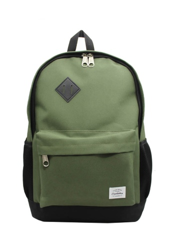 OPTIONS black and green and multi Options Classic Day Backpack D6E34AC63FCE19GS_1