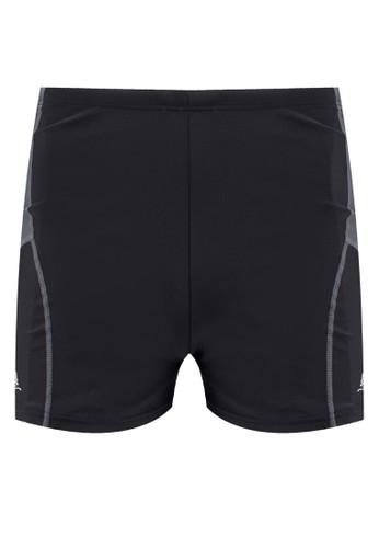 拼色游泳短褲,zalora鞋 服飾, Shorts