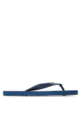 BENCH blue Printed Rubber Slippers BE550SH91MBWPH_1