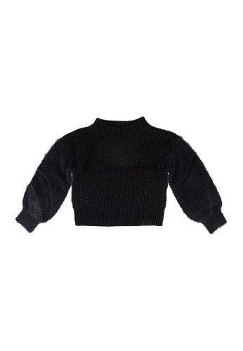 GLOBAL WORK blue Plain Sweater 3F2ACKA0AAC033GS_1