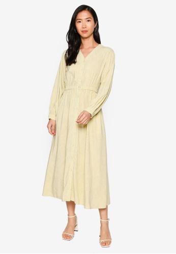 LOWRYS FARM yellow Printed Dress 37B18AA5D465D1GS_1