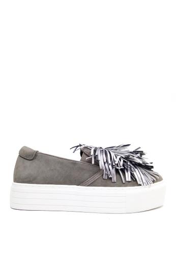 Kenneth Cole New York grey JAYSON - Slip On Sneaker A0445SHFDE0D2BGS_1