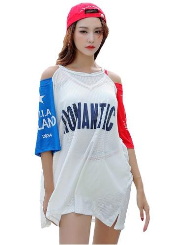YG Fitness white and multi (3PCS) Fashion Sports Swimsuit Set EC6C5USFAB8C6FGS_1