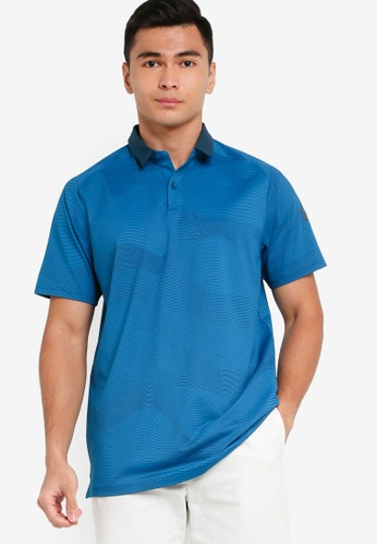 Under Armour green Iso Chill Polo Shirt 09F2BAA20A9B1AGS_1