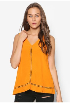 Sleeveless Clementine Casual Tank Top
