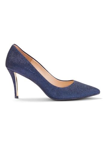 Shu Talk 藍色 大熱閃爍高貴性感高跟鞋 49ED2SHF2F64EAGS_1
