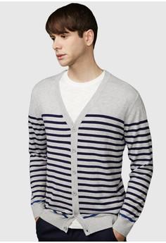 Odd One Stripes Cardigan