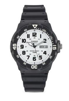 Casio Quartz 跳字行針手錶
