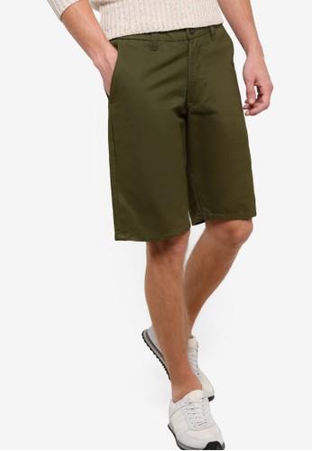 Slim Fit Bermuda Shortzalora是哪裡的牌子s, 服飾, 短褲