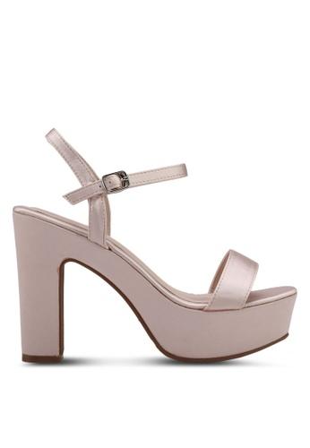 VINCCI gold Strappy Heels 8E4F6SH20D666CGS_1