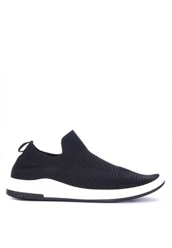 Mendrez black Rencio Sneakers EC30BSHA45A419GS_1