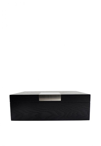 Stylesource black 8-slot Wooden Watch Box 7334AACC9EC93BGS_1
