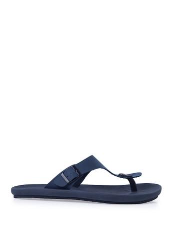 Minarno blue Blue Kai Strap Sandals MI641SH72ORRID_1