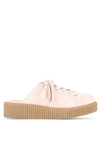 Something Borrowed beige Slip On Sneakers DB740ZZ889CE2CGS_1