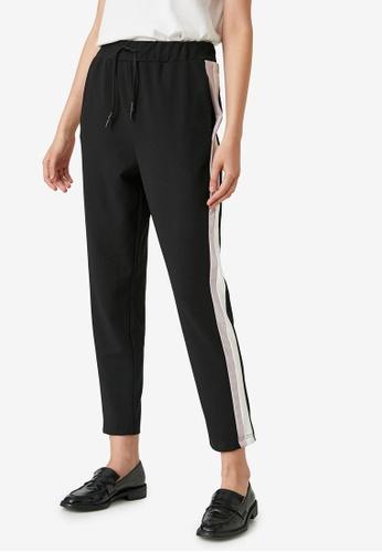 KOTON black Casual Sweat Pants 98013AAE9DAC81GS_1