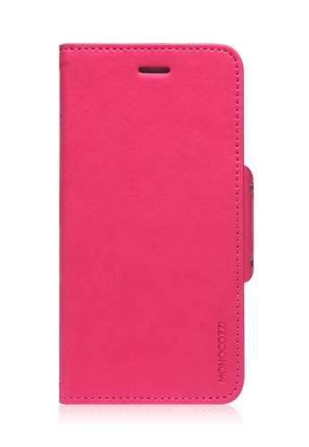 Monocozzi pink Lucid Folio Leather Hard Flip Folio For iPhone 6 MO983AC87BWEHK_1