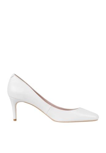 eq:iq white eqHAZEL Mid-heel Pumps 32DF7SHB887057GS_1