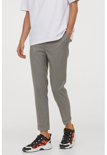 H&M multi Suit trousers Skinny Fit 1BCFCAAD551296GS_1