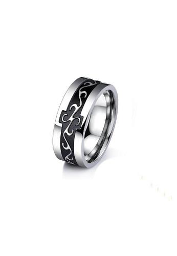 ADORA black Stainless Steel Ring 962DCAC6BF0C21GS_1