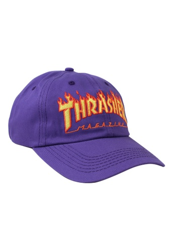 Thrasher purple Thrasher Flame Old Timer Hat Purple E889AACE0FAFFBGS 1 57d04f2b5