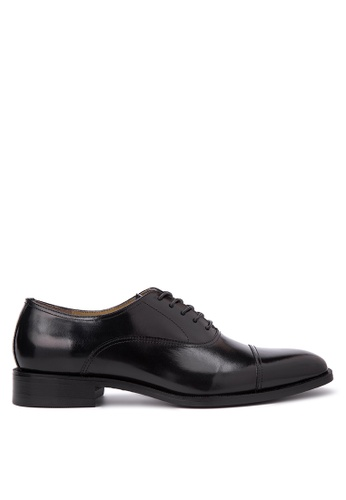 Bristol Shoes black McCartney Black Cap Toe Oxford BR842SH45KDEPH_1