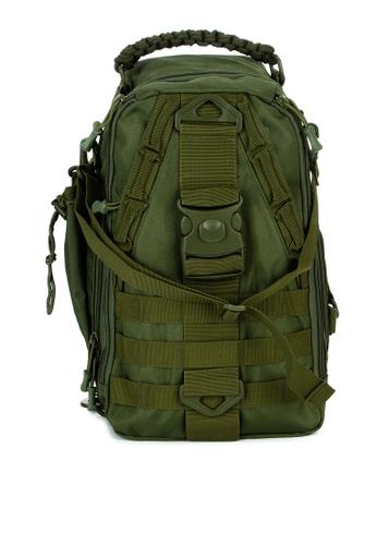 Tactics green Tt Commuter Crossbody Bag(E017) 9B9C3AC7CBB890GS_1