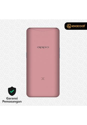 Exacoat Oppo Find X 3M Skin / Garskin - Blush Pink - Cut Only 85FD3ESACF8B42GS_1