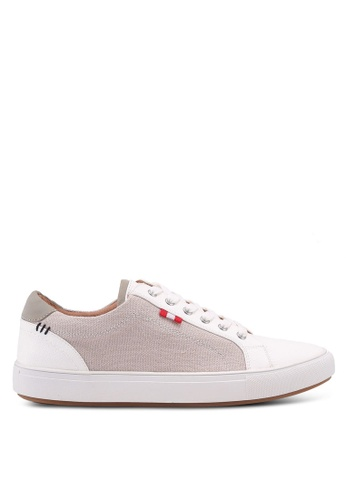River Island beige Canvas Side Lace Up Trainers 3DE3CSHC17A5AEGS_1