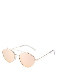 2940355b2d Quay Australia gold Elle Sunglasses 6294AGL1FB702AGS 1