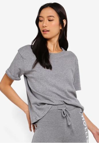 Hollister 灰色 短袖T恤 BE16EAABAE1A49GS_1