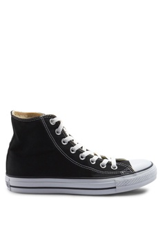 2da56bb9ace614 Converse black Chuck Taylor All Star Core Hi Sneakers C9E20SH9B4FF7EGS 1