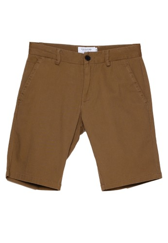 High Cultured brown Short Pants - 93 88249AAC3E7496GS_1