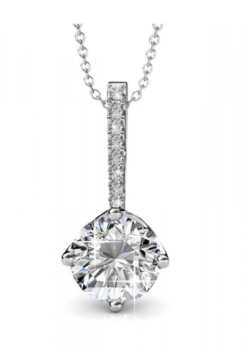 Her Jewellery silver Her Jewellery Elegant Pendant with Necklace Chain with 18K Gold Plated 7D5BDACD8ED191GS_1