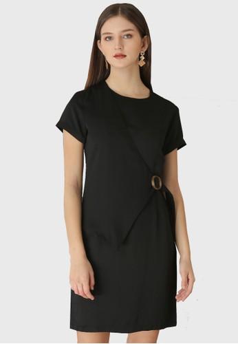 Urban Exchange black Callie Black Dress 06322AAF8BF3B5GS_1