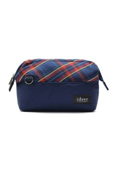 Selden Blueberry Mirrorless Tartan Check Camera Cross Bag