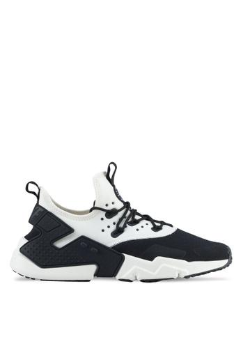 Nike black and white Men's Nike Air Huarache Drift Shoes NI126SH0STTEMY_1