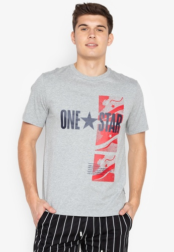 f29691b0551 Shop Converse One Star Photo Short Sleeves Top Online on ZALORA Philippines