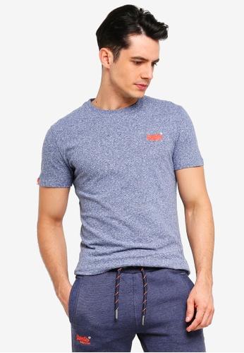 Superdry 藍色 復古短袖T恤 1DD96AAEBFBB1FGS_1