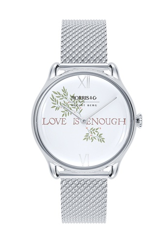 August Berg silver MORRIS & CO PURE Silver Love is Enough SS Mesh 30mm CFDC1ACF0134A0GS_1