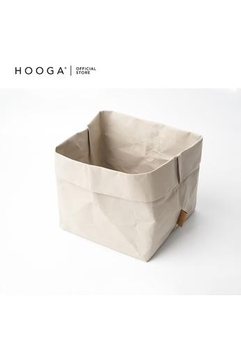 HOOGA beige Hooga Multipurpose Organiser Brio L (Bundle of 2) 3194BHL0BBD85BGS_1