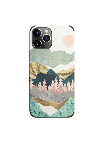 Kings Collection white Mountain Oil Painting iPhone 11 Pro Case (KCMCL2123) 55A25AC8E6A5B0GS_1