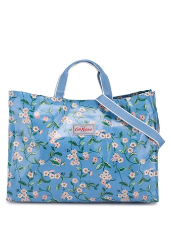 Cath Kidston blue Forget Me Not Strappy Carryall Bag 011CCAC61984D7GS_1