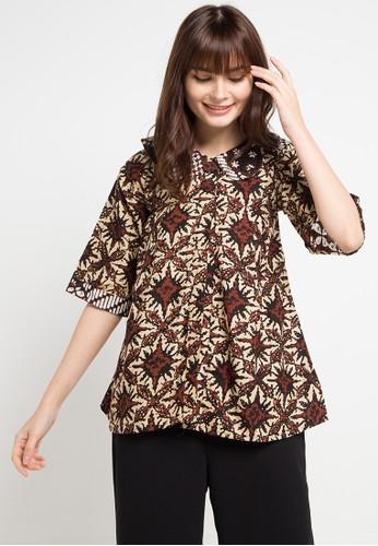 Batik Kaniz multi and brown Soya 9CC37AA233FD60GS_1