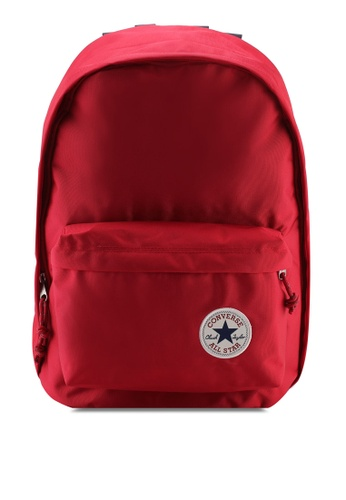 Converse red Converse All Star Core Basic Color Backpack BB715AC2DDC777GS_1