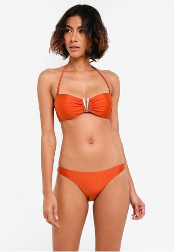 Yshey orange Bella Ibiza Bikini Set YS681US0RTM4MY_1