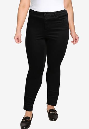 Dorothy Perkins black Plus Size Black Alex Jeans 1B292AA84CB02DGS_1
