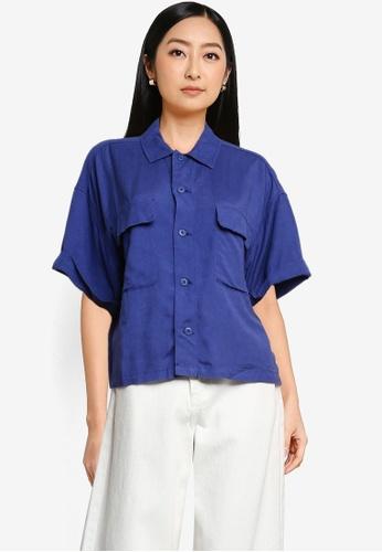 niko and ... blue Utility Shirt 151BDAA257C241GS_1