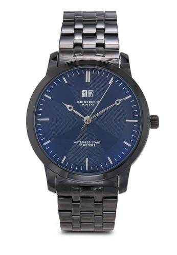 Akribos XXIV black Black Date Watch 5BD6BAC096A15FGS_1
