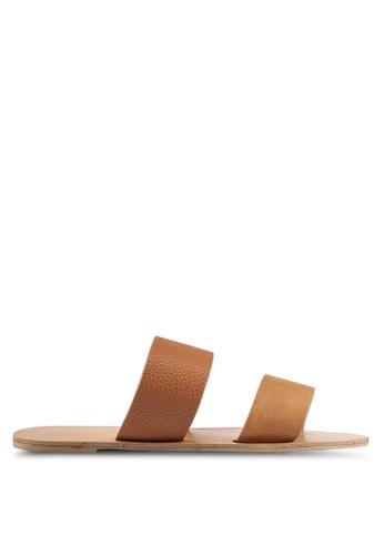 Billini brown Cuban Sandals BI606SH0RT2YMY_1